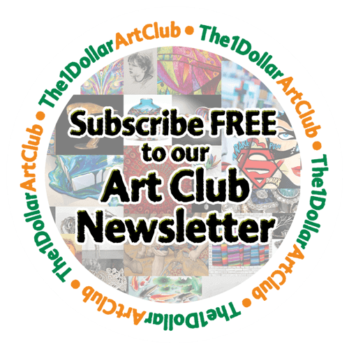 The $1 Dollar Art Club Newsletter